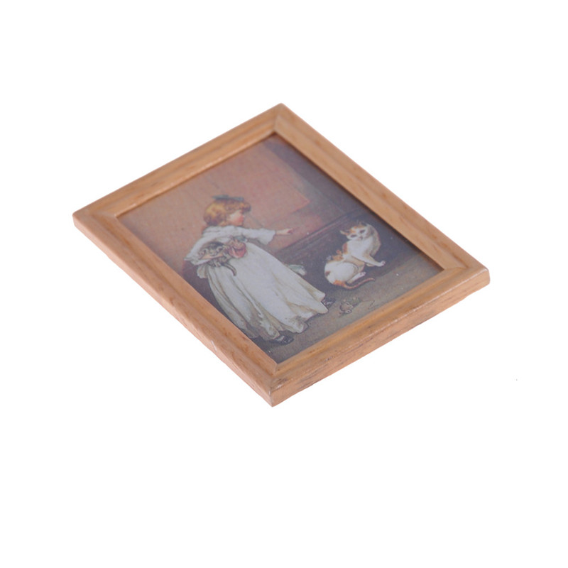 E106 Childrens Doll House Oil Painting Shop At Ezbuy Singapore